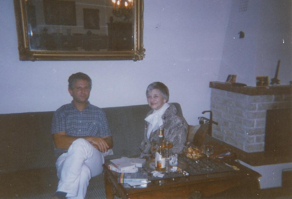 Zerka és Gábor Budapesten
